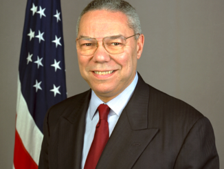 Colin Powell Official State Department Portrait in Public Domain.